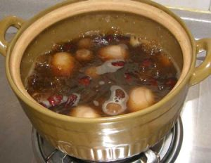 Chinese Red dates sweet soup