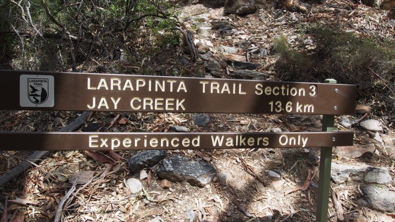 Larapinta walking trail