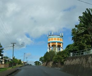 Innisfail art deco water tower