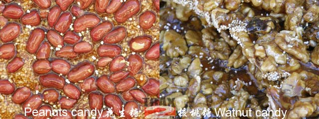 Walnut Candy ans Peanut Candy