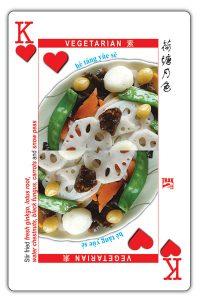 food card king of hearts