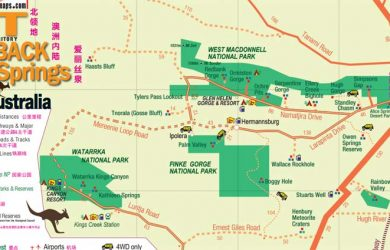 Free Alice Springs Map